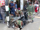 ZNA in a clean up campaign
